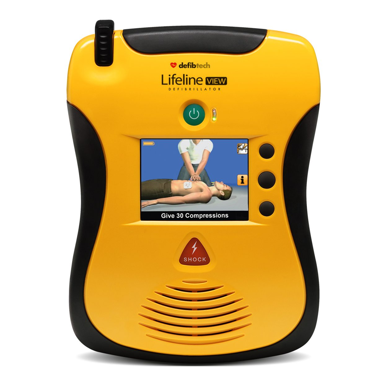 Defibtech-LifeLine-View AED
